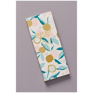Anthropologie | Meal Planner Notepad